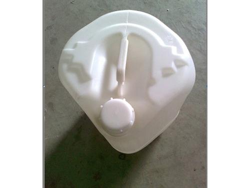 白色角口25升塑料桶